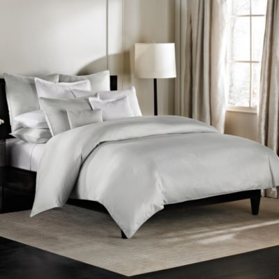 Barbara Barry Dream Aurora Ombre Twin Duvet Cover in Celadon