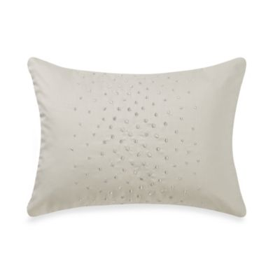 Barbara Barry Dream Aurora Ombre Breakfast Throw Pillow in Celadon