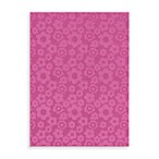 Garland Flowers Rug in Pink