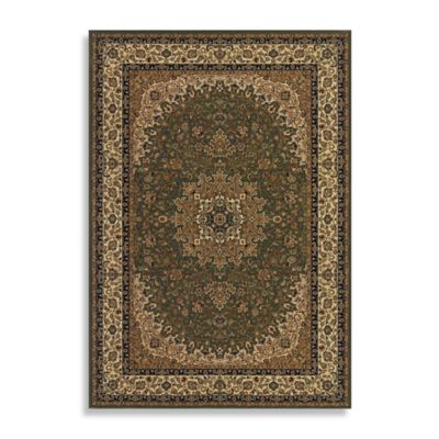 Couristan® Royal Kashan 3-Foot 11-Inch x 5-Foot 3-InchRug - Green