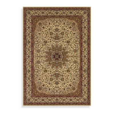 Couristan® Royal Kashan 2-Foot 7-Inch x 7-Foot 10-Inch Rug - Ivory