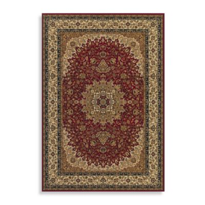 Couristan® Royal Kashan 3-Foot 11-Inch x 5-Foot 3-Inch Rug - Red