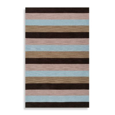 Surya angelo:HOME Impressions Rug in Blue/Brown