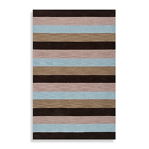 angelo:HOME Impressions 8-Foot x 10-Foot 6-Inch Rug in Blue/Brown