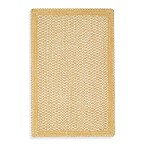 Capel Millwood Braided Rug in Pale Gold