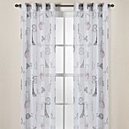 Travelouge Multi-Sheer Grommet Window Curtain Panels