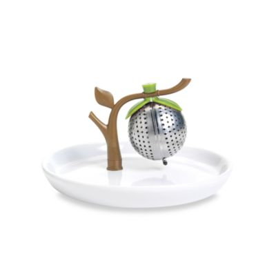 Chef'n® Tea Tree Tea Infuser and Saucer