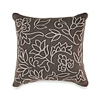 Sonata Embroidered Square Toss Pillow