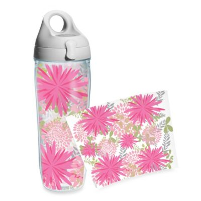 Tervis® Molly Z Pink Mum Wrap 24-Ounce Water Bottle
