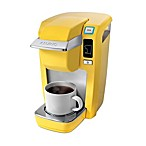 Keurig® K10 Mini-Plus Personal Coffee Maker in Yellow
