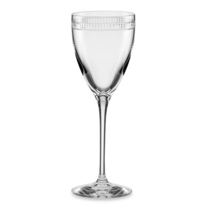 kate spade new york Chapel Hill Crystal Wine Glass