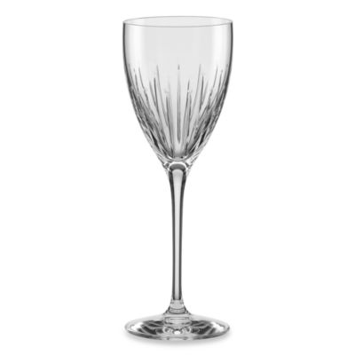 kate spade new york Mercer Drive Crystal Wine Glass