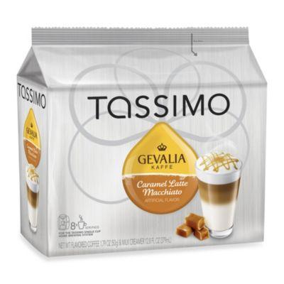 Gevalia 16-Count Caramel Latte Macchiato T DISCs for Tassimo™ Beverage System