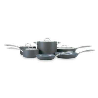 GreenPan Paris Hard Anodized Nonstick 10-Piece Set