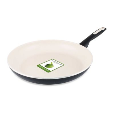 GreenPan™ Rio 10-inch Ceramic Nonstick Open Fry Pan in Cream