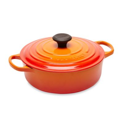 Le Creuset® 3.5-Quart Round Wide Oven in Flame
