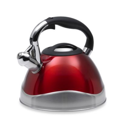 Creative Home Crescendo 3.1-Quart Cranberry Tea Kettle
