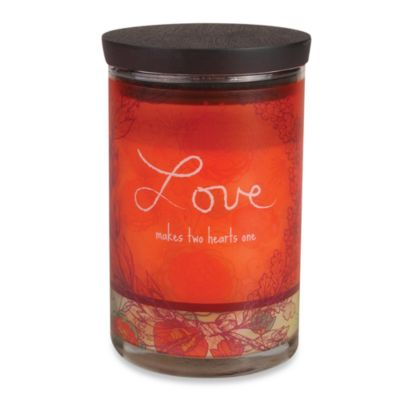 WoodWick® inspirational Collection Jar Candle in Love