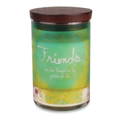 WoodWick® inspirational Collection Jar Candle in Friends