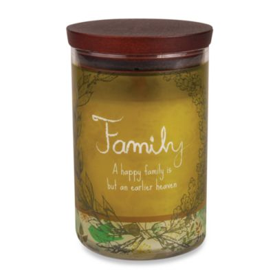 WoodWick® inspirational Collection Jar Candle in Family