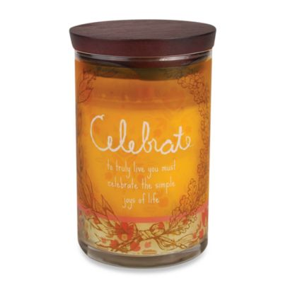 WoodWick® inspirational Collection Jar Candle in Celebrate