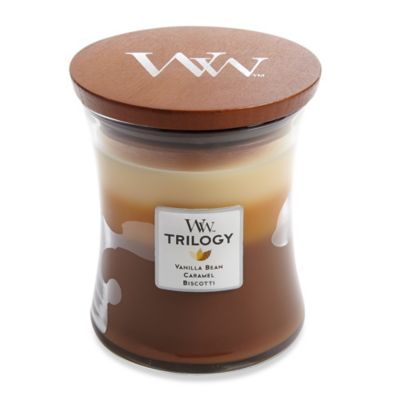 WoodWick® Café Sweets Trilogy 10-Ounce Jar Candle