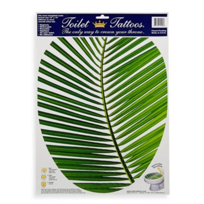 Toilet Tattoos® Palm Frond in Elongated