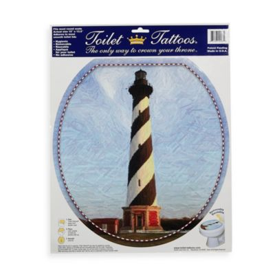 Toilet Tattoos® Cape Hatteras in Round