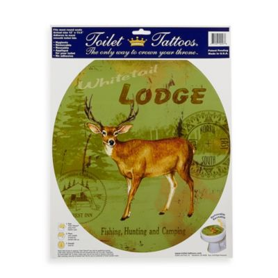 Toilet Tattoos® Deer Lodge in Round