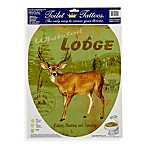 Toilet Tattoos® Deer Lodge in Elongated