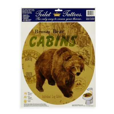 Toilet Tattoos® Bear Lodge in Round