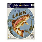 Toilet Tattoos® Lake Fish in Round