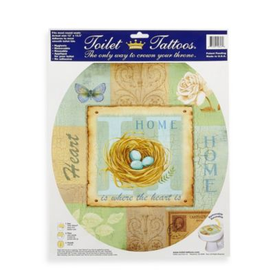 Toilet Tattoos® Home Collage in Round