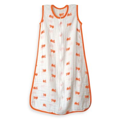 "aden + anais® ""Mod About Baby - Fish"" Muslin Classic Medium Sleeping Bag"
