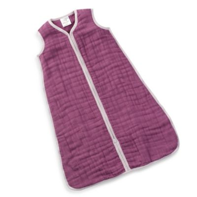 "aden + anais® ""Sugar Plum"" Cozy Muslin Large Sleeping Bag"