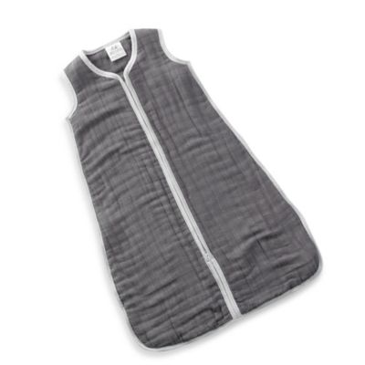 "aden + anais® ""Dream in Grey"" Cozy Large Muslin Sleeping Bag"
