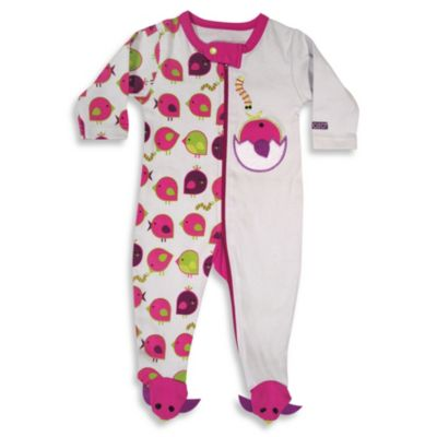 Sozo® Early Bird Footed Romper