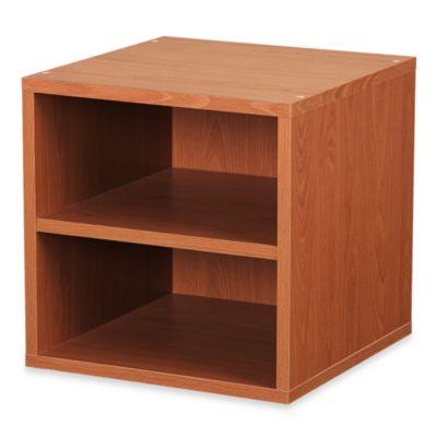 Foremost Cube Shelf in Honey