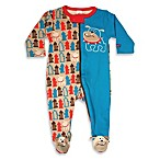 Sozo® Bulldog Footed Romper