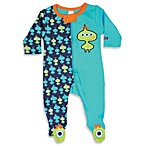 Sozo® Lil Green Men Footed Romper