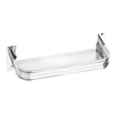 Chrome Bath Towel Shelf