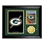 Green Bay Packers Fan Memories Desktop Photo Mint Frame