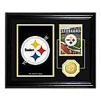 Pittsburgh Steelers Fan Memories Desktop Photo Mint Frame