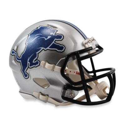Riddell® NFL Detroit Lions Speed Mini Helmet
