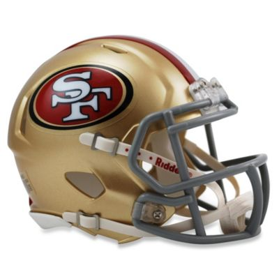Riddell® NFL San Francisco 49ers Speed Mini Helmet