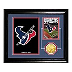 Houston Texans Fan Memories Desktop Photo Mint Frame