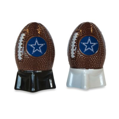 NFL Cowboys Salt and Pepper Shakers