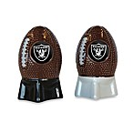 NFL Raiders Salt and Pepper Shakers