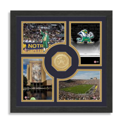 University of Notre Dame Fan Memories Photo Mint Wall Frame