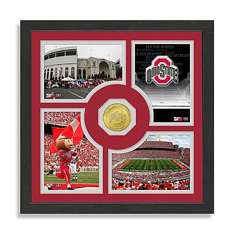 Ohio State University Fan Memories Photo Mint Wall Frame